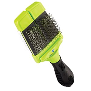 FURminator Slicker Brush with Soft Bristles for Dogs Small 10
