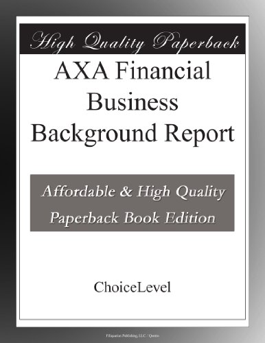 axa-financial-business-background-report