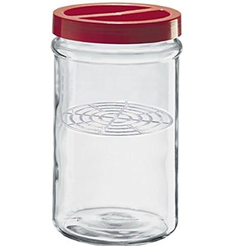 Vase Behälter Dose aus Glas für Konserven 3,5Lt Borgonovo Ortes