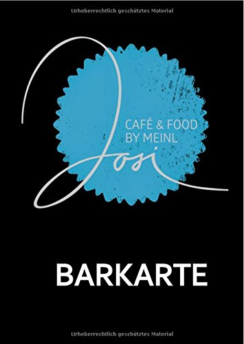 Barbuch / JOSI Barkarte