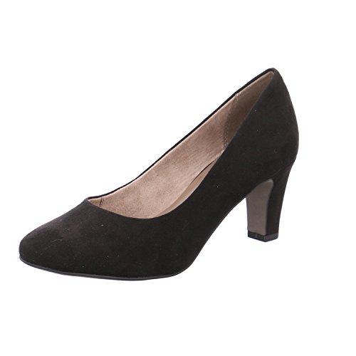 Tamaris 1-1-22436-20 Pumps Donna, Scarpe Estive Per La Donna Attenta Alla Moda Nero