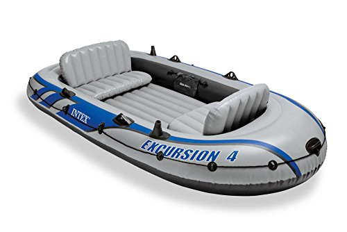 Intex Excursion 4 Set Schlauchboot + Paddel 68324NP