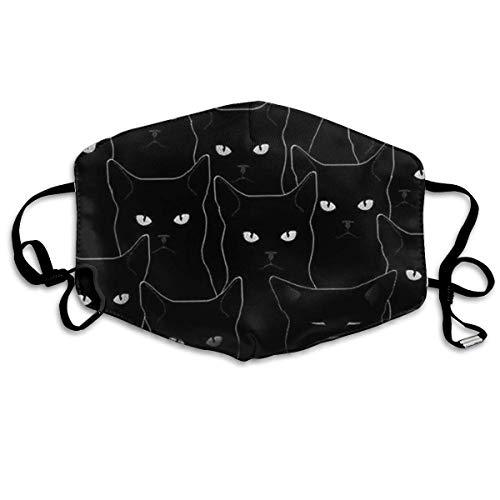 Niedliche Kostüm Für Kaltes Wetter - liang4268 Mundmasken Black Cat Flu Dust