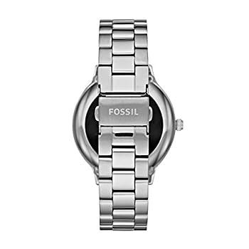 Fossil Damen Smartwatch Q Venture 3. Generation - Edelstahl - Silber – Elegante & Moderne Frauen Smartwatch – Für Android & Ios 1