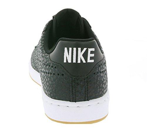 Nike W Tennis Classic Ultra Prm, Chaussures de Sport Femme Noir / Noir-Blanc