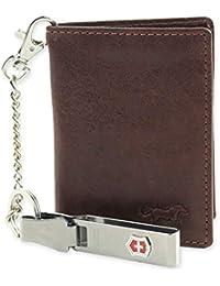 Cartera de Piel Para Hombre – Safekeepers – Protección de Identificación por Radiofrecuencia (RFID)