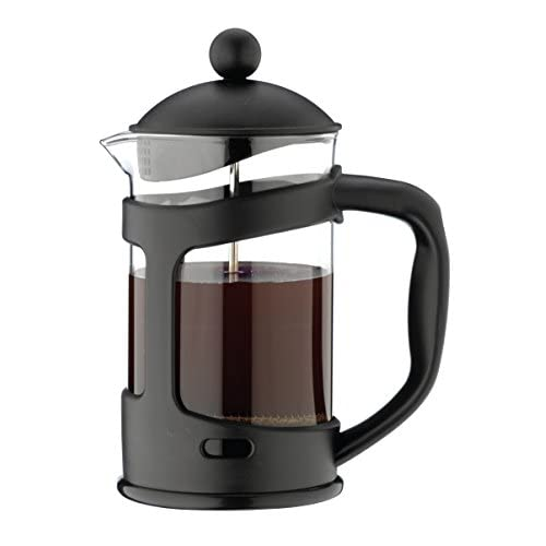 41Z OPhRl1L. SS500  - Café Ole Glass Cafetiere, Black, 3 Cup (350ml)