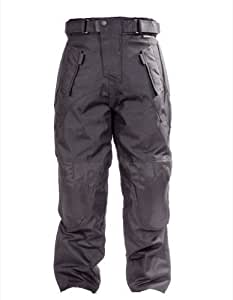 OnTour Motorcycle CE Armour Waterproof Textile Lined Trousers Large: 32-34""