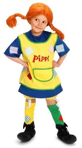 Pippi Langstrumpf 44.3600.05 - Pippi Kostüm, ab 3 ()