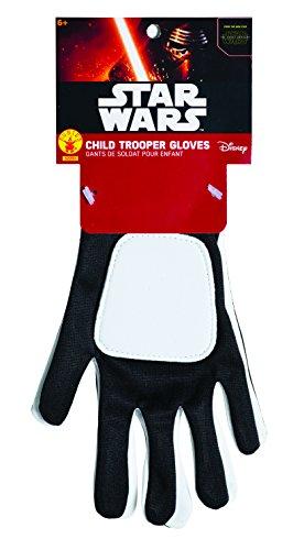 Offizielle Kostüm Stormtrooper - Rubie 's Offizielle Star Wars flametrooper Handschuhe, Kind Kostüm-EINE Größe
