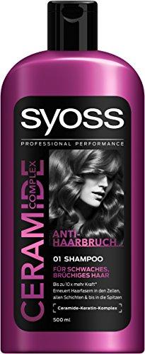 Syoss Ceramide Complex Anti-Haarbruch Shampoo, 6er Pack (6 x 500 ml)