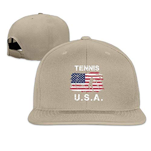 timeless design 04211 06a60 Wuciyu American Table Tennis Snapback Unisex Adjustable Flat Bill Visor  Baseball Cap