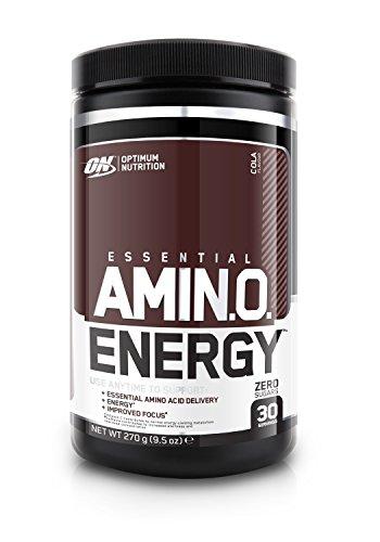 Optimum Nutrition Amino Energy Sports Supplement, 270 g, Cola