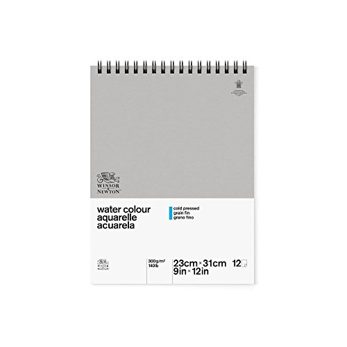 winsor-newton-229-x-305-cm-300-gsm-cold-pressed-water-colour-paper-spiral-pad