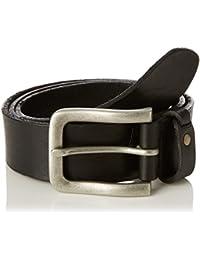 Wrangler Men's Born Ready Plaquet Black Belt