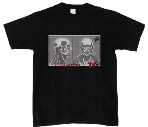 Angriff auf Titan T-Shirt Tasse erschossen schwarz Gr??e: L (Japan-Import) -