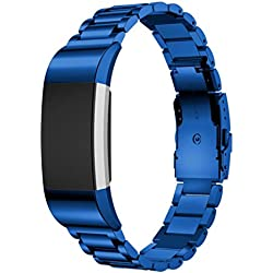 For Fitbit Charge 2 Replacement Band ,Fulltime(TM) Stainless Steel Bracelet Smart Watch Band Strap For Fitbit Charge 2