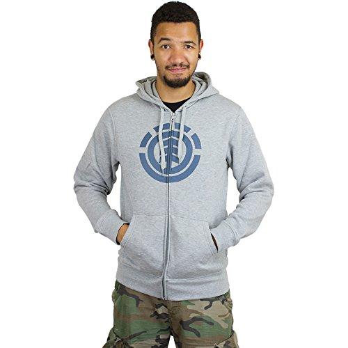 Element Zip-Hoody Icon grau Grau