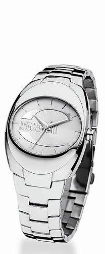 Just Cavalli R7253107545 - Reloj para hombres, correa de acero inoxidable color plateado