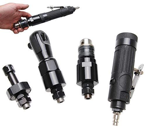 BGS 3262 | Druckluft-Multiwerkzeug mit 3 auswechselbaren Arbeitsköpfen