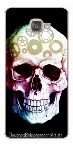 konHülle für Samsung Galaxy A9 (SM-A9000) - Tattoo Schädel Halloween by WonderfulDreamPicture (Gothic Halloween-cover-fotos)