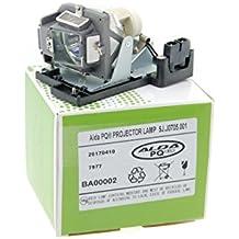 Lámpara de proyector Alda PQ 5J.J0705.001 para Benq HP3325, MP670, W600, W600+ Proyectores, módulo de la lámpara con la caja