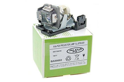 Alda PQ Beamerlampe 5J.J0705.001 für Benq HP3325, MP670, W600, W600+ Projektorenen, Lampenmodul mit Gehäuse