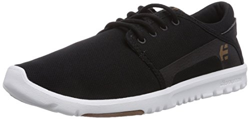 Etnies Scout, Sneakers Basses Homme Negro (BLACK/WHITE/GUM/979)