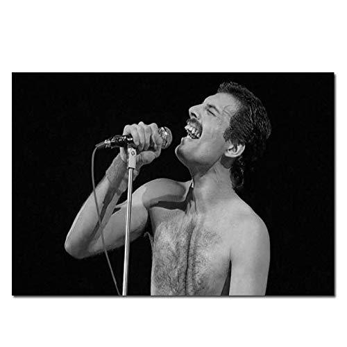 Boxprints Freddie Mercury Queen Poster Music Legend