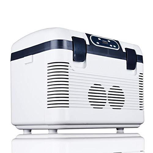 Tragbarer Kühlschrank, Intelligenter Kompressions-Mini-12-24-V-Kühler Mit 19-l-Gefrierfach, 240 V Für Schlafzimmer, Auto, Außenbereich, Gekühlte Isolierung, Box Mit Doppeltem Verwendungszweck -
