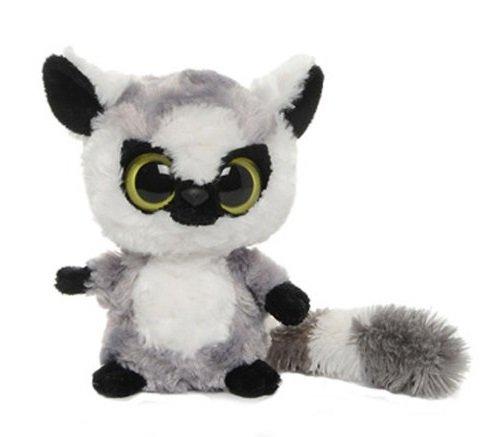 yoohoo-friends-pluschtier-affe-lemur-lemmee-grauer-katta-kuscheltier-ca-13-cm