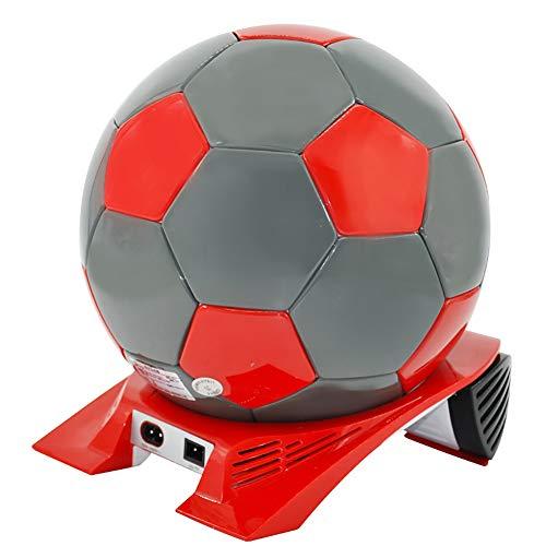 DULPLAY 4L Auto Kühlschrank,Fußball Mini-Kühlschrank,Haushalt Kleine Elektronische Kühlung, Heizung Kompakt Portable Für Zuhause, Büro und Auto-B 27.5x24.8x27cm(11x10x11inch)