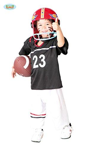KINDERKOSTÜM - FOOTBALL SPIELER - Größe 142-148 cm ( 10-12 Jahre ), Player Quarterback Rugby USA (Für Kostüme Jungen Football Spieler)