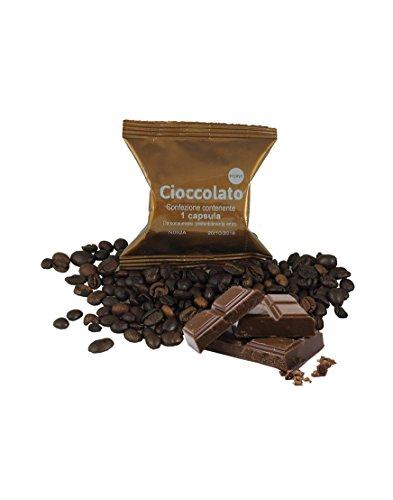 50 cápsulas chocolate compatibles Lavazza Espresso Point, paquete de 50 capsulas compatibles con maquinas espresso point, capsulas monodosis compatibles, capsulas lavazza, capsulas espresso point Fap