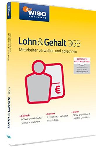 WISO Lohn & Gehalt 365 (frustfreie Verpackung)