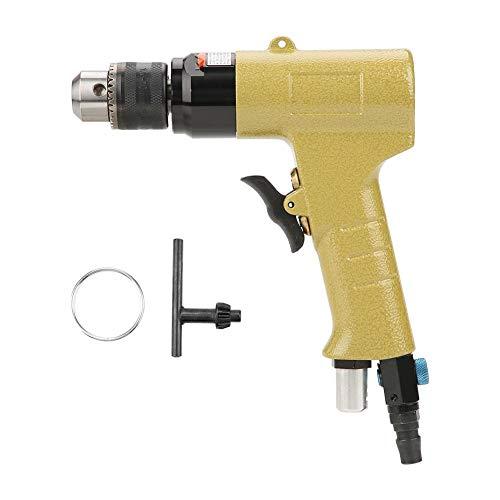 Reversible Luft (Pneumatischer Bohrer, 3/8 Zoll-Reversible Luft Bohrer KP-550N mit Pistolenbohr werkzeug für Möbel und Eisenwaren, 1400 U/min)