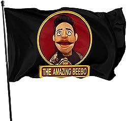 If Nothing Die Show BEEBO Flag Flag 3x5Ft Boys Offizielle Flagge, Sunset Hikers Flag Banner, perfekt für Tailgates Dorms College Football Burschenschaften Parteien