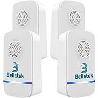 Belletek Repelente Ultrasónico de Plagas, Repelente de Insectos Electrónico Enchufable, Control de Plagas para