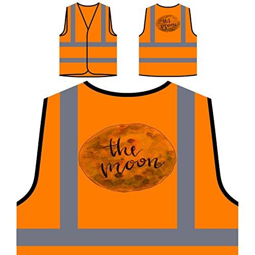 ond Personalisierte High Visibility Orange Sicherheitsjacke Weste q146vo ()