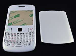 MobiFox BlackBerry Curve 8520 Housing / Body (Without LOGO) + Free Tool (White)