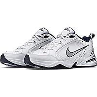 Nike AIR MONARCH IV, Men's Fitness & Cross Training Shoes, Silver (White/Metallic Silver 102), 8 UK (42.5 EU)