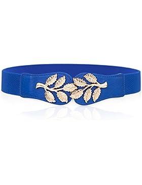 Elástico De La Cintura De La Mujer/Cinturón Decorativo De Moda-C 60cm(24inch)