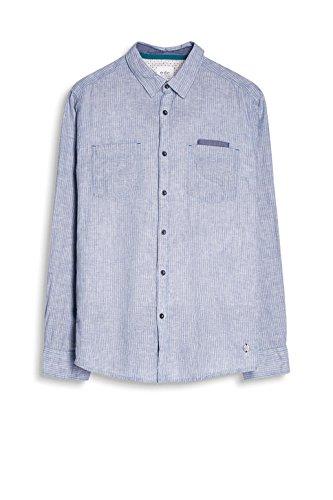 edc by Esprit, Camicia Uomo Blu (Light Blue)