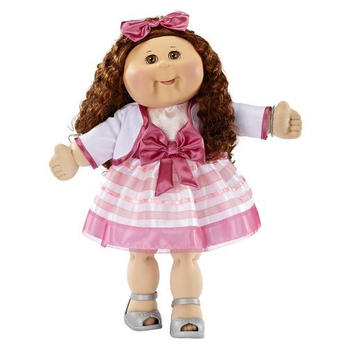 fao-exclusive-cabbage-patch-doll-30th-anniversray-20-inch-collector-kid-girl-brunette-brown-eyes