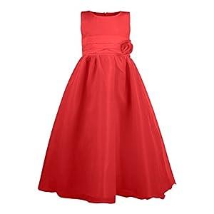 Katara- Eiskönigin vestido, Color rojo, 4-5 años (0730133654978)