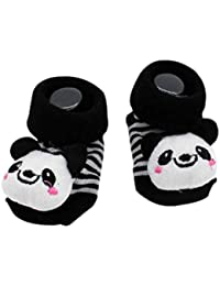 Hanxin 0-6 Month Unisex Children Cute Cartoon Style Newborn Baby Kids Infant Breathable Doll Socks