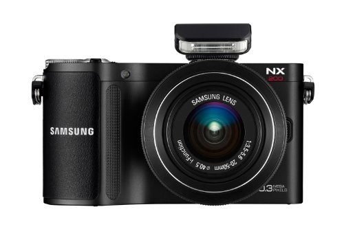 NX-200 Digital Bridge Camera + 20-50mm Lens