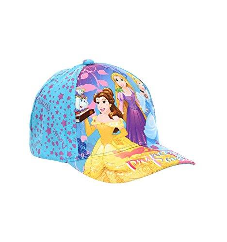Les princesses disney cappello - ragazza blu 52 cm (3-6 anni)