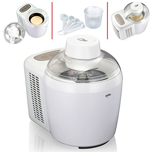 (026) Melissa Ice Cream Maker Eismaschine Softeismaschine Style Weiss