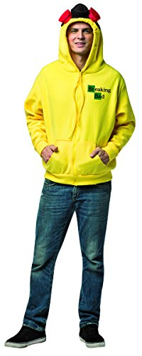 Jacke Breaking Bad Walter White Herren Hood - LARGE